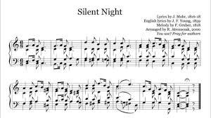 sheet music silent night silent night organ piano free sheet music download pdf www nuty