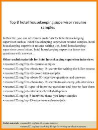 Housekeeping Manager Resume Sample Newest Crafty Inspiration