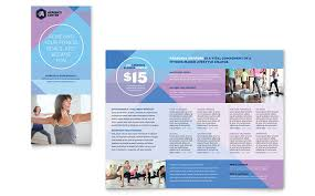 microsoft office catalog templates sports fitness tri fold brochure templates word publisher