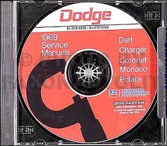 dodge cd repair shop manual for charger dart polara 1969 dodge cd shop manual for charger dart polara coronet 69
