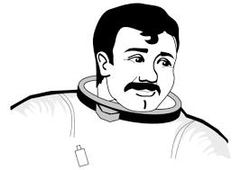 Stoere Astronaut Kleurplaat Gratis Kleurplaten Printen