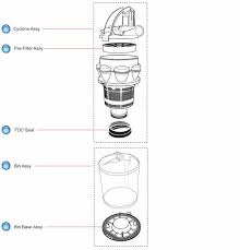 call for dyson parts here for dc14 bin and cyclone schematic
