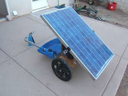 17 best ideas about solar generator solar powered aka solar panel on wheels aka post apocalyptic power wagon aka bike dance party