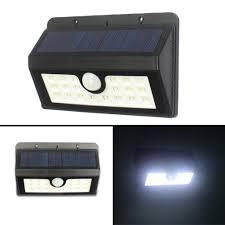 solar lights pack led motion sensor light waterproof outdoor