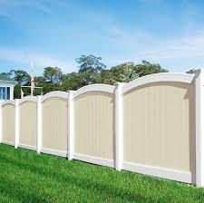 white fence panels. Illusions PVC Vinyl Fence Photo Gallery White Panels