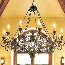 lighting magnificent spanish style chandelier 10 engaging 7 lights earrings crystal table