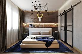 Superior This Industrial Meets Rustic Bedroom Is A Very Stylish And Bold Space