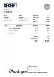Store Receipt Sample Template Us Modern Red 750px Voucher