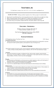 Nurse Resume Example O A Registered Template Cv Sample Templates ...