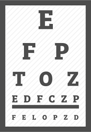 Vision Acuity Chart Ophthalmic Eye Clinic By Nanmulti Sanhawan