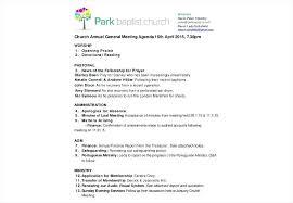 Political Agenda Template Interesting General Meeting Agenda Template Body Deepwaters