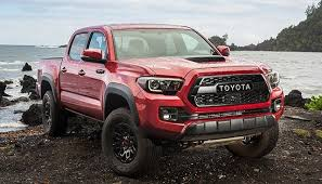 The new 2018 Toyota Tacoma might come with an improved 4-cylinder ...