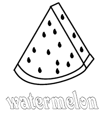 Small Picture Watermelon Coloring Pages GetColoringPagescom
