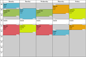 free schedule builder pin by chandra andrew on teaching tips schedule class schedule