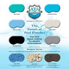 pool paint colorsSample Board of AquaGuard 5000 Epoxy Pool Paint Color Chart  Aqua