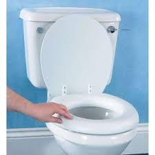 soft foam padded toilet seat