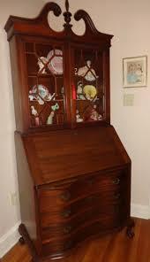 antique slant front secretary desk bookcase by judeshandtiques antique slant front secretary desk bookcase by