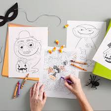Coloring pages are fun for children of all ages and are a great educational tool that helps children develop fine motor skills, creativity and color recognition! Halloween Coloring Pages Hallmark Ideas Inspiration