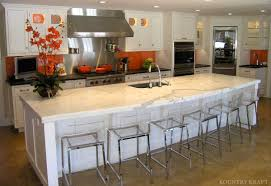... Modern Kitchen With Long Island Fitting Six Seats And Built In Sink  Darien, CT · Storage Cabinet ...