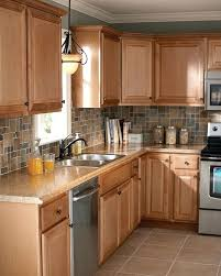 light brown kitchen cabinets what paint color goes with oak colors