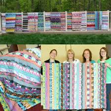 Jelly Roll Quilt Ideas - The Sewing Loft & Jelly Roll Quilts from Sew South 2015 Adamdwight.com