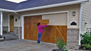 wood double garage door. The Easy Way To Update Look, Not As Cheap DIY W/gel Stain, But Looks Even More Like A Wood Carriage Door. \ Double Garage Door G