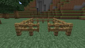 Fence Gate On Minecraft Minecraft Fence Gate How To Craft A Gate And