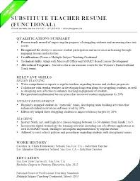 Qualifications Summary Resume Example Skills Summary Resume Sample Unique Qualification Summary Resume