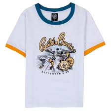 Capitola Classic Ringer T Shirt