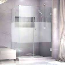 frosted glass shower doors frosted glass shower door cleaning