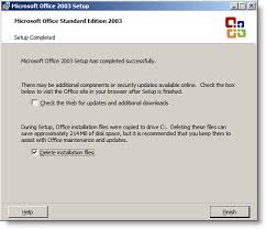 Office 2003 Office 2010 Setup May Fail When Upgrading From Office 2003 If