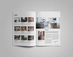 Interior Design Brochure Template Enchanting Interior Design Catalogue Template By LeParte GraphicRiver