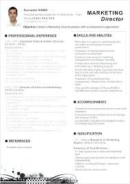 Marketing Manager Resume Example Marketing Director Resume Examples