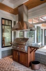 outdoor kitchen design porch grill