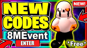 Make sure to drop a like and subscribe if this was. All New Secret Codes 8m Event Update Roblox Sans Multiversal Battles Youtube