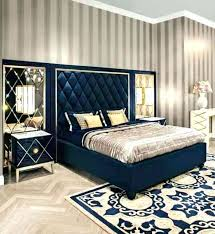 art deco bed art bedding art bedroom with stripes wallpaper with navy blue bed frame and art deco