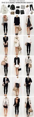 office wardrobe ideas. The Ultimate Capsule Wardrobe: Basics - Fast Food \u0026 Fashion | A Personal Style Blog Office Wardrobe Ideas