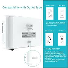 wall mounted power strip wall mount surge protector power strip with quick charger 3 ports and wall mounted power strip