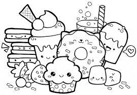 Kawaii Food Coloring Pages New Kawaii Food Coloring Pages Kawaii