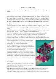 graphics essay by danielshippey issuu
