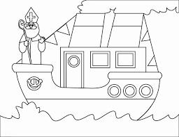 Raamtekening Boot Van Sinterklaas Gratis Kleurplaat Malvorlagen