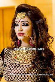 rainaas artistry makeovers is a of the best beauty parlours in delhi with a best services like nail polish application hair colour application