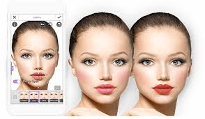 true to life face detection youcam makeup