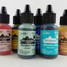 Adirondack Alcohol Ink Colour Chart Singles Tim Holtz Adirondack Alcohol Inks 5 Oz