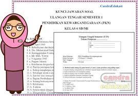 Kunci jawaban tabel 3.1 perumusan uud negara republik indonesia tahun 1945 ppkn kelas 7. Soal Uts Pkn Kelas 6 Semester 1 Dan Kunci Jawaban