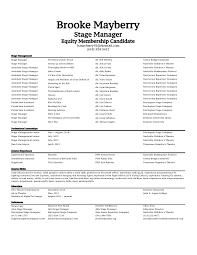 Management Resume Modern Floridaframeandart Com Stunning Cv Stage Manager Resume Stage