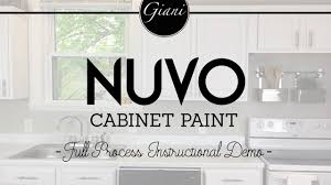 Nuvo Cabinet Paint Reviews Nuvo Cabinet Paint Instructional How To Video Youtube