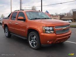 Avalanche chevy avalanche 2007 : Sunburst Orange Metallic 2007 Chevrolet Avalanche LT 4WD Exterior ...