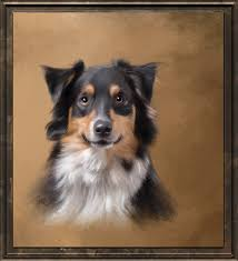 artistry class 9 painting classic dog portraits based on photos in corel painter