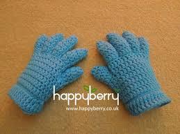 Crochet Gloves Pattern New Happy Berry Crochet Crochet Finger And FingerlessHalf Finger Glove